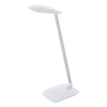 Настольная светодиодная лампа Eglo Cajero 95695, LED 4,5W 4000K 550lm CRI>80, белый, пластик