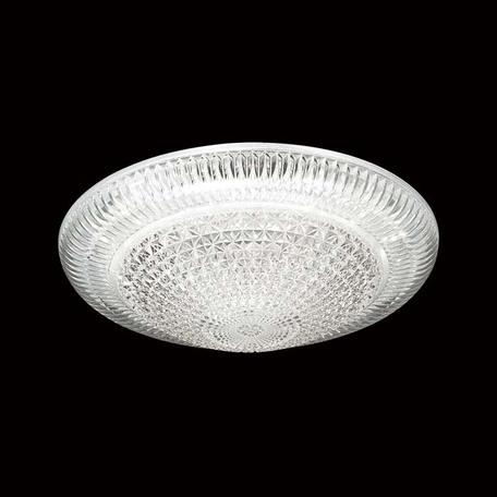 Потолочный светодиодный светильник Sonex Brilliance 2038/СL, IP43, LED 30W 4000K 3150lm, белый, прозрачный, металл, пластик