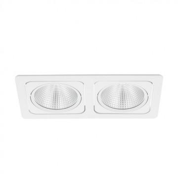 Встраиваемый светодиодный светильник Eglo Vascello G 61669, LED 38W, белый, металл