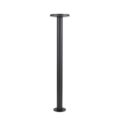 Уличный светодиодный фонарь ST Luce Tableto SL078.415.01, IP65, LED 10,8W, 4000K (дневной), черный, металл