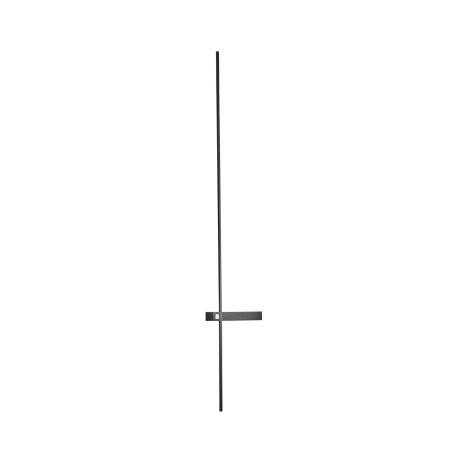 Настенный светодиодный светильник ST Luce Astente SL1589.411.01, IP23, LED 15W 4000K 1170lm, черный, металл