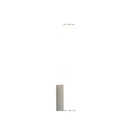 Настенный светодиодный светильник ST Luce Curra SL1599.101.01, IP44, LED 6W 4000K 468lm, матовый хром, белый, металл, пластик