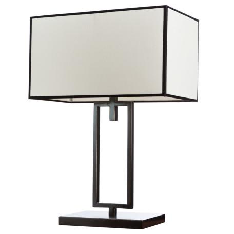 Настольная лампа Divinare Porta 5933/01 TL-1, 1xE27x40W, черный, бежевый, металл, текстиль