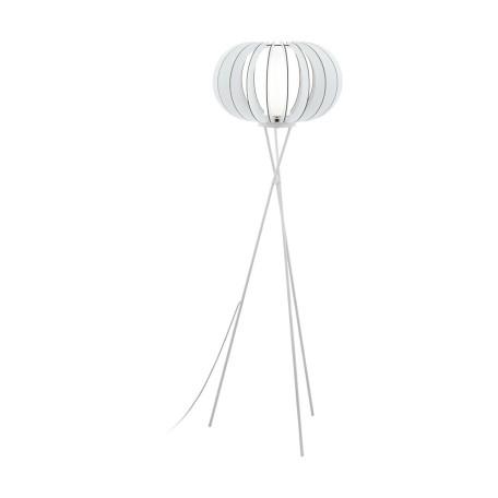 Торшер Eglo Stellato 2 95612, 1xE27x60W, белый, черно-белый, металл, дерево