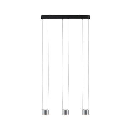 Подвесной светодиодный светильник Paulmann Aldan 79720, LED 27W, черный, алюминий, металл