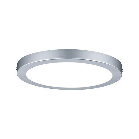 Потолочный светодиодный светильник Paulmann Atria 70933, LED 15W, матовый хром, пластик