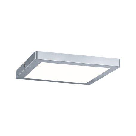 Потолочный светодиодный светильник Paulmann Atria 70935, LED 16W, матовый хром, пластик