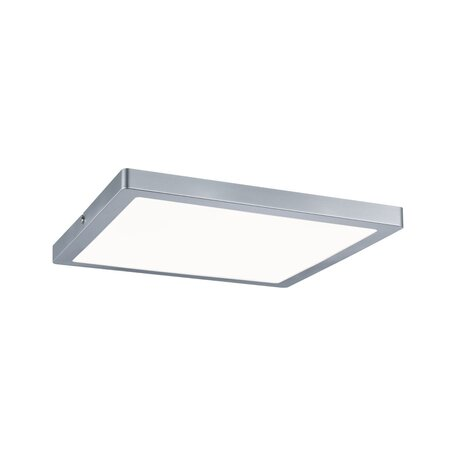 Потолочный светодиодный светильник Paulmann Atria 70936, LED 20W, матовый хром, пластик