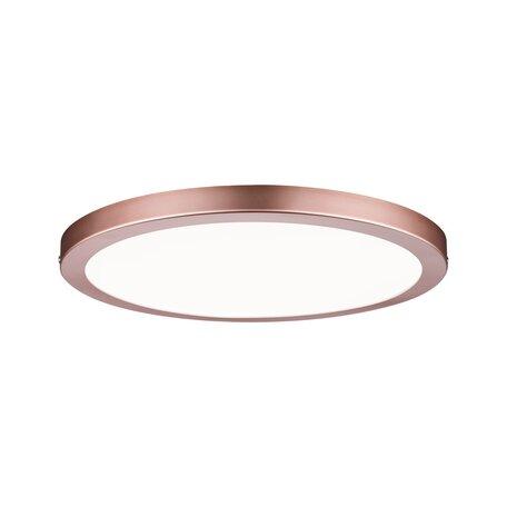 Потолочный светодиодный светильник Paulmann Atria 70940, LED 19W, медь, пластик