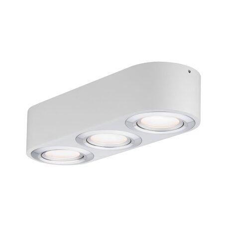 Потолочный светодиодный светильник Paulmann Argun 79710, LED 14,4W, алюминий, металл