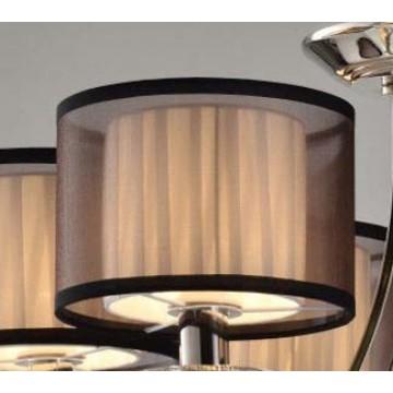 Абажур Newport Абажур к 1600/S коричневый (М0056667), белый, коричневый, пластик, текстиль