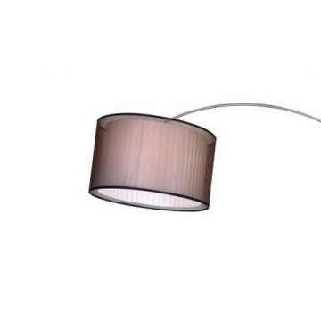 Абажур Newport 1600 Абажур к 1601/FL коричневый (М0056896), белый, коричневый, пластик, текстиль