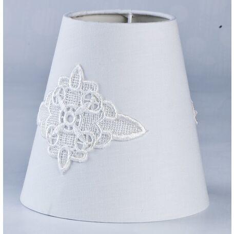 Абажур Maytoni Lampshade LMP-227-W, белый, текстиль