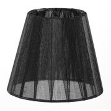 Абажур Maytoni Lampshade LMP-BLACK-130, черный, текстиль