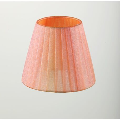 Абажур Maytoni Lampshade LMP-PEACH-130, розовый, текстиль