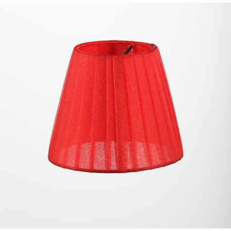 Абажур Maytoni Lampshade LMP-RED-130, красный, текстиль