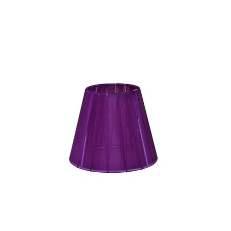 Абажур Maytoni Lampshade LMP-VIOLET-130, фиолетовый, текстиль