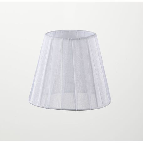 Абажур Maytoni Lampshade LMP-WHITE-130, белый, текстиль