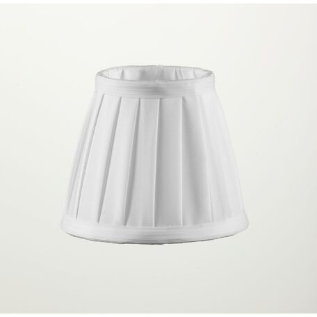 Абажур Maytoni Lampshade LMP-WHITE2-130, белый, текстиль