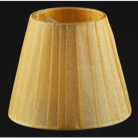 Абажур Maytoni Lampshade LMP-YELLOW-130, желтый, текстиль