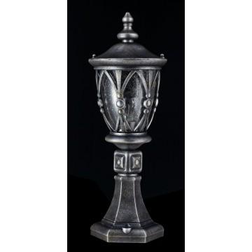Садово-парковый светильник Maytoni Rua Augusta S103-59-31-B, IP44, 1xE27x60W, черненое серебро, прозрачный, металл, стекло - миниатюра 4