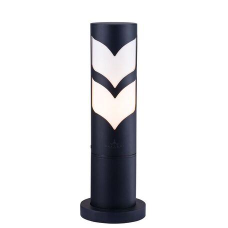 Садово-парковый светильник Maytoni Fifth Avenue S710-37-31-B, IP44, 1xE27x11W, белый, черный, металл с пластиком, пластик