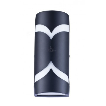 Настенный светильник Maytoni Fifth Avenue S710-25-02-B, IP44, 2xE14x11W, черный, металл, пластик - миниатюра 2