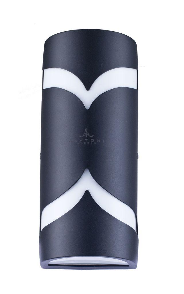 Настенный светильник Maytoni Fifth Avenue S710-25-02-B, IP44, 2xE14x11W, черный, металл, пластик - фото 2