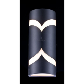 Настенный светильник Maytoni Fifth Avenue S710-25-02-B, IP44, 2xE14x11W, черный, металл, пластик - миниатюра 3