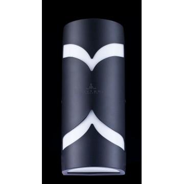 Настенный светильник Maytoni Fifth Avenue S710-25-02-B, IP44, 2xE14x11W, черный, металл, пластик - миниатюра 4