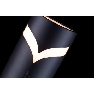 Настенный светильник Maytoni Fifth Avenue S710-25-02-B, IP44, 2xE14x11W, черный, металл, пластик - миниатюра 5