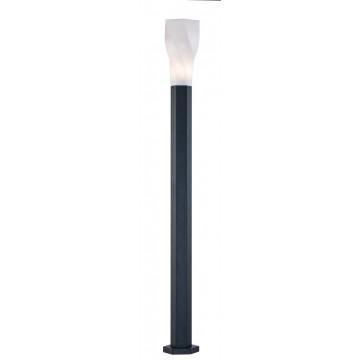 Уличный фонарь Maytoni Orchard Road S106-120-61-B, IP44, 1xE27x11W, белый, черный, металл, пластик