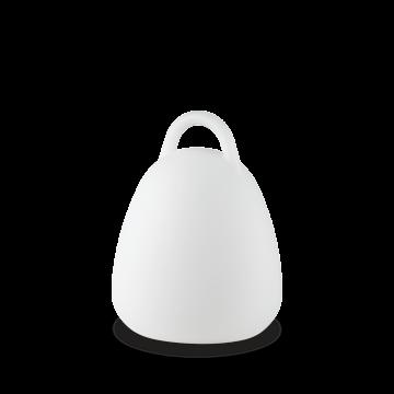 Садовый светодиодный светильник Ideal Lux LIVE PT CAMPANA 138893 (LIVE TL1 CAMPANA), IP65, LED 2,5W 4000K + RGB 10lm, белый, пластик