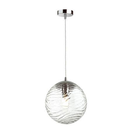 Подвесной светильник Odeon Light Pendant Otila 4781/1, 1xE27x60W, хром, прозрачный, металл, стекло