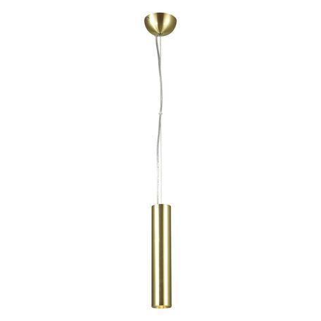 Подвесной светодиодный светильник Favourite Pendenti 1965-1P, LED 9W 3000K 855lm CRI≥82, матовое золото, металл