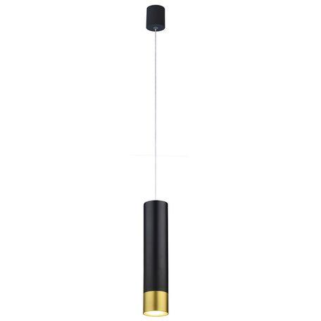 Подвесной светодиодный светильник Favourite Pendenti 2006-1P, LED 5W, черный, металл