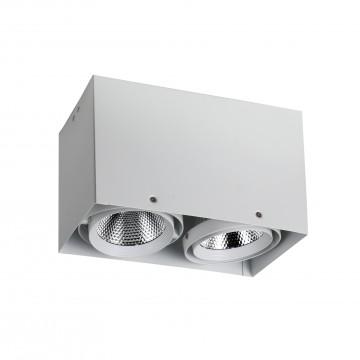 Потолочный светодиодный светильник Favourite FlashLED 1986-2U, 4000K (дневной), белый, металл