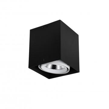 Потолочный светодиодный светильник Favourite FlashLED 1987-1U, 4000K (дневной), черный, белый, металл