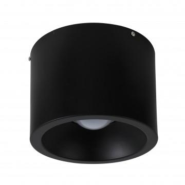 Потолочный светодиодный светильник Favourite Reflector 1996-1C, LED 24W 4000K (дневной), черный, металл, пластик