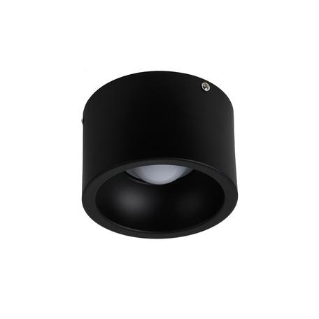 Потолочный светодиодный светильник Favourite Reflector 1995-1C, LED 12W 4000K, черный, металл