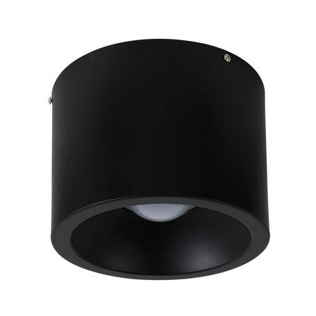 Потолочный светодиодный светильник Favourite Reflector 1996-1C, LED 24W 4000K, черный, металл - миниатюра 1