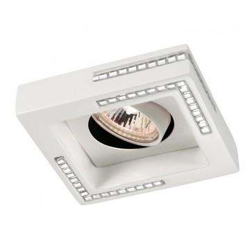 Встраиваемый светильник с поворотным плафоном Novotech 369843 Fable, белый