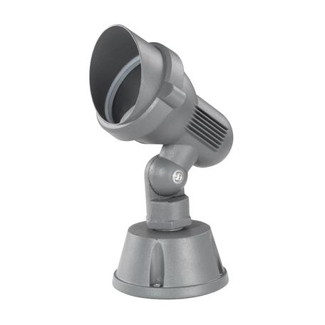 Прожектор Novotech Landscape 369955, IP67, 1xGU10x50W, серый, металл, стекло