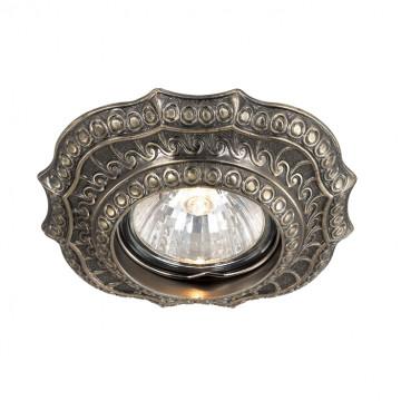 Встраиваемый светильник Novotech Vintage 369855, 1xGU5.3x50W, бронза, металл
