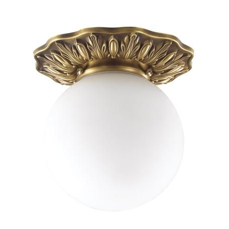 Встраиваемый светильник Novotech Sphere 369975, IP44, 1xG9x40W, бронза, белый, металл, стекло - миниатюра 1