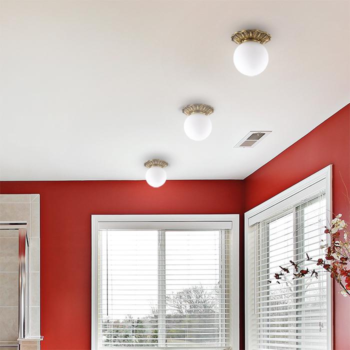 Встраиваемый светильник Novotech Sphere 369975, IP44, 1xG9x40W, бронза, белый, металл, стекло - фото 2