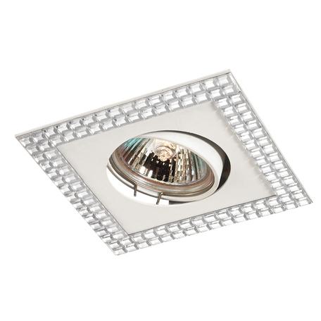 Встраиваемый светильник Novotech Mirror 369837, 1xGU5.3x50W, белый, металл