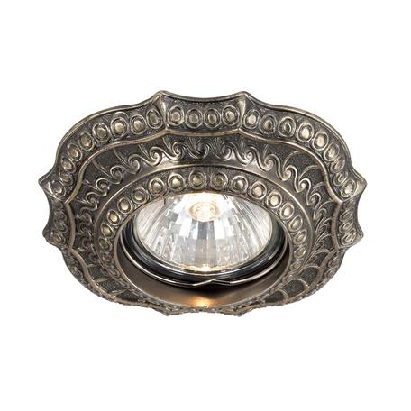 Встраиваемый светильник Novotech Spot Vintage 369855, 1xGU5.3x50W, бронза, металл