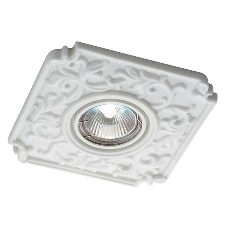 Встраиваемый светильник Novotech Farfor 369865, 1xGU5.3x50W, белый, керамика