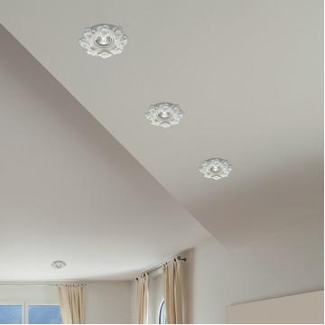Встраиваемый светильник Novotech Spot Farfor 369870, 1xGU5.3x50W, белый, керамика - миниатюра 2